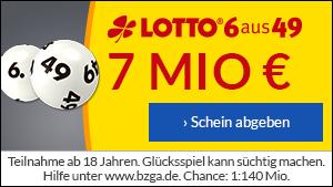 Lotto 6 aus 49 online spielen: Jeden Mittwoch Millionen zu gewinnen!